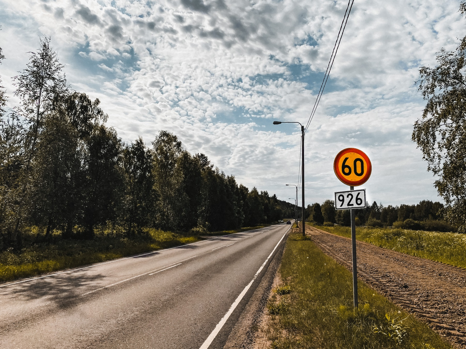 ograniczenia prędkości w Finlandii